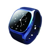 Bluetooth Smart Watch M26 with Music Player Pedometer Call SMS Remind Pedometer Wristwatch for Android OS Mobile Phone