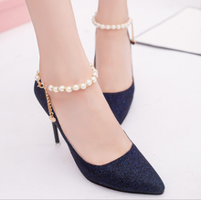 2017 latest western design bling shoes women shoes heels
