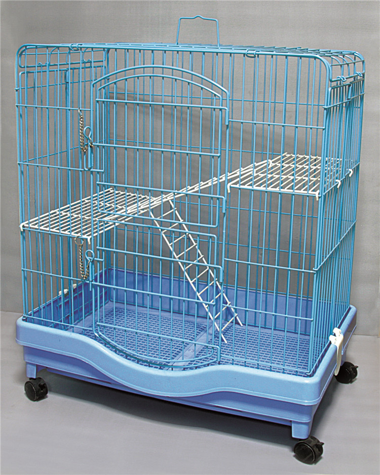 Factory cheap cat house product big foldable wire pet cat cage for sale buy cat cage cat house - Ekia furniture ...