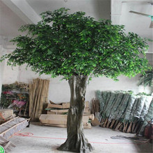 Italy Customized High Simulation Large Outdoor Artificial Trees Decoration Ficus Banyan Tree For Park And Garden