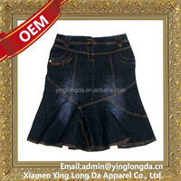 Bottom price latest hottest latest jean dress tops girls