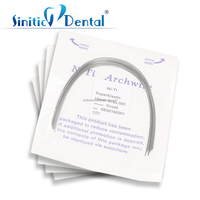 Dental unit sale round ovoid niti / stainless steel orthodontic arch wire niti