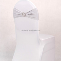 wedding chair brooch sash rhinestone ribbon buckle