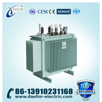 High Reliability Full-sealed Oil Immersed Power Transformers 1500KVA 13200V To 415V