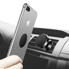 customized 360 degree adjustable air vent magnetic car phone holder,automatic universal mobile magnetic car phone holder