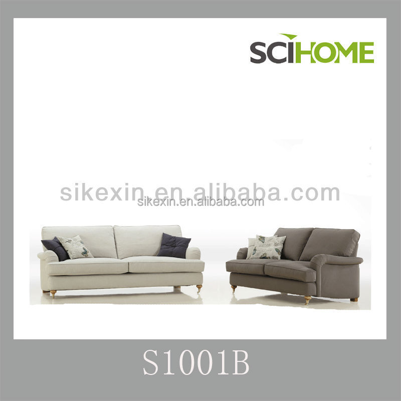 living furniture fabric baker style 2013 new design sofa