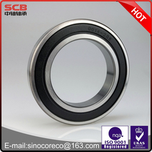 Single row deep groove ball bearing for electric motor ball bearing 6014-2RS 70*110*20mm