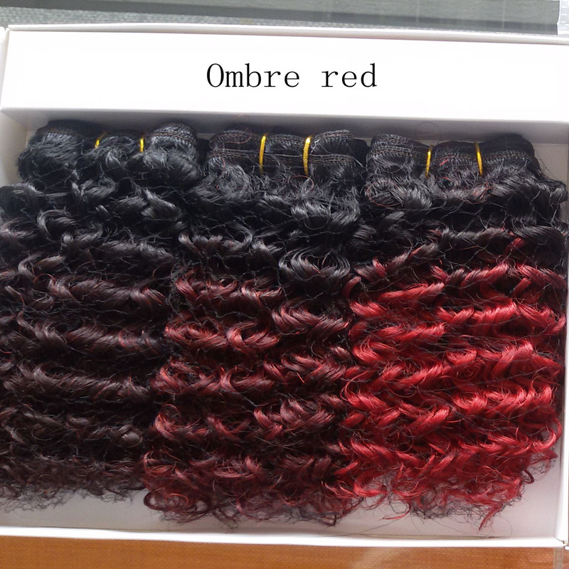 China branded best jerry curl synthetic hair extensions with human hair