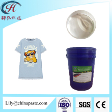 washable white and clear rubber paste for nylon jeans denim screen printing ink
