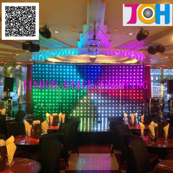 Ph20 fantastic led curtain for stage background