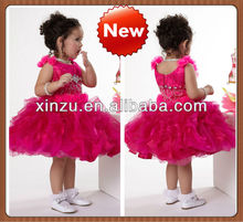 Lovely Fuchsia Children Girl Dress