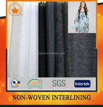 Nonwoven interlining fusing,tricot interlining with good quality in china
