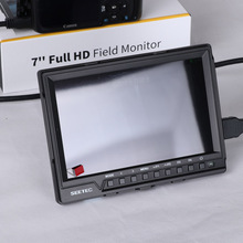 7 inch hdmi field hd monitor with Brightness Histogram IPS panel 1920*1200 resolution