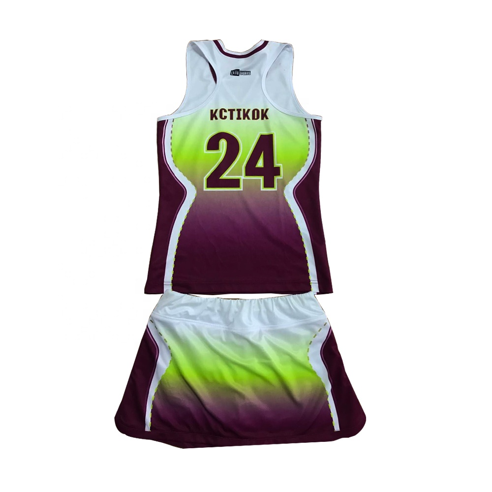 Latest Fashion Lacrosse Lady's Skirt Mesh Sublimated Skirt