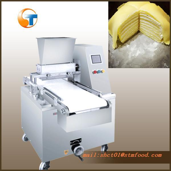 CE approved crepe cake making machine for sale