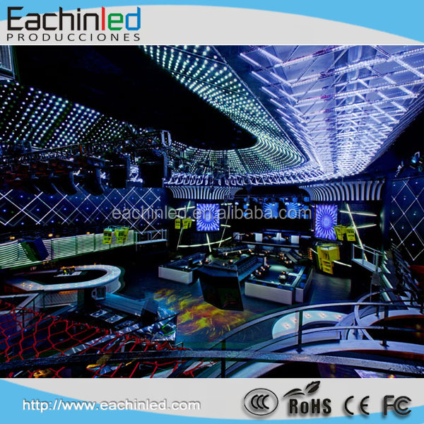 Night club P5.95 indoor & outdoor led large screen / led wall