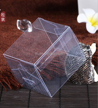 Eco friendly PVC clear plastic transparent soap box packaging