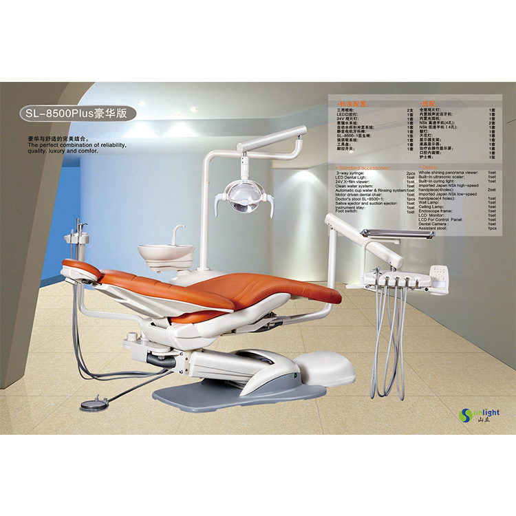New Promotion Electricity Sunlight led light dental chair With Factory Wholesale Price