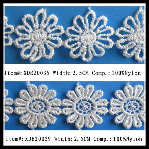 Embroidery Nylon Lace for Mini Skirt