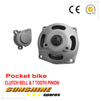Clutch Bell Housing Gear Box Mini Moto Pocket Bike parts