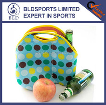 wholesale high quality and portable neoprene insulated lunch bag