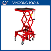 High Quality 300LB Capacity Hydraulic Motorcycle Lift Table