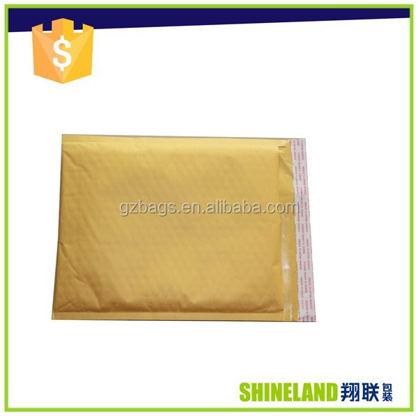 kraft paper envelop bag with bubble