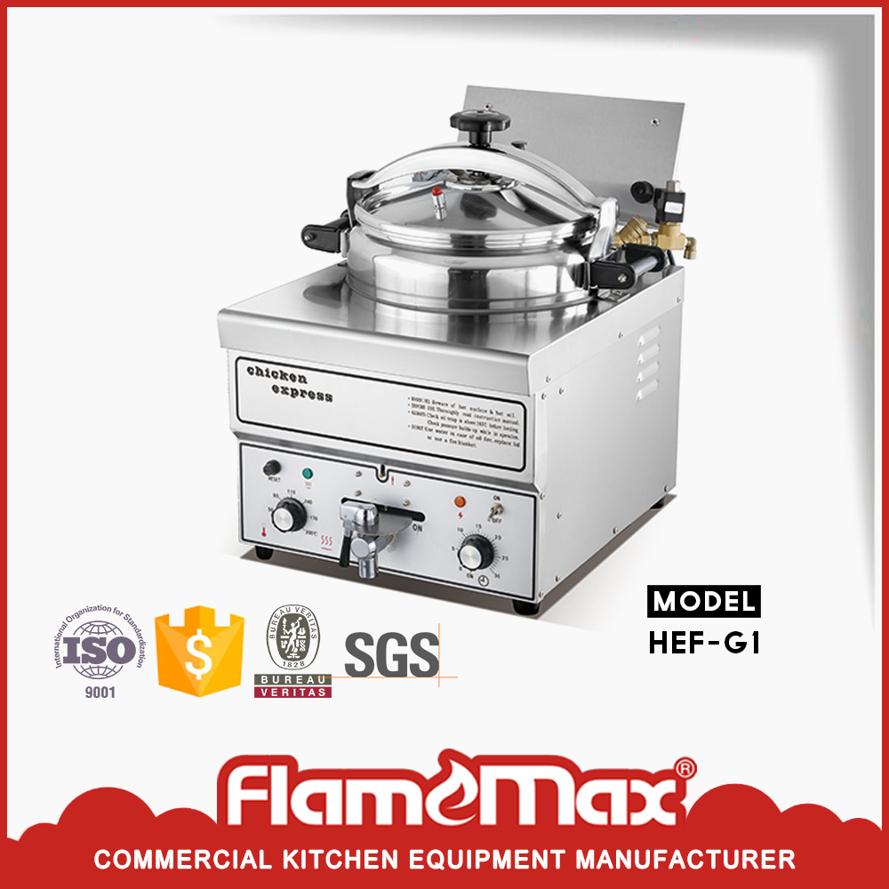 Hot sale Counter-top style Electric chicken Pressure Fryer