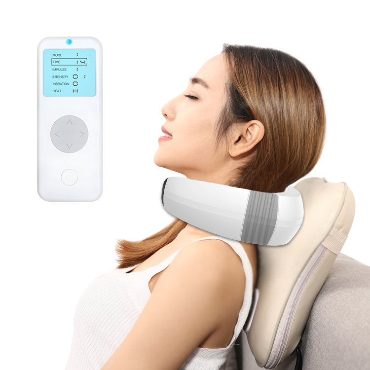 Neck Massager Electric with Infrared Heating Pulse Vibrator,for Massage Head/Back/Neck
