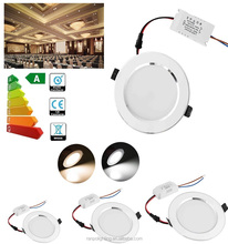 Ranpo LED Downlights Dimmable 3W 5W 7W 9W 12W 15W 18W Recessed Ceiling Panel Light Cool White Indoor 85-265V