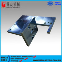 Laser cutting parts from china , welding machinery parts for printing machine