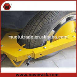 "High Quality China Manufacturer 145""-285""mm Security wheel clamp lock car tyre trailer"