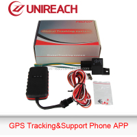 gps vehicle tracking system use tracker with relay for remotely oil cut and restore - MT08A