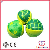 ICTI SEDEX factory with customized logo bean bag foam balls