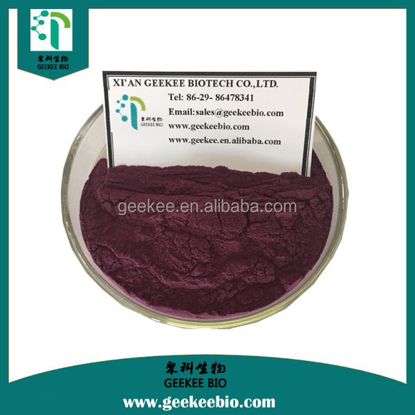 ISO Professional manufacturer supply lowest price Pterostilbene//Bilberry /Blueberry Extract cas no.537-42-8