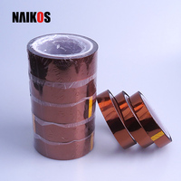 Amber Insulation Double-sided High Temperature Polyimide Silicone Adhesive Tape