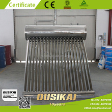 Stainless Steel 304 Non Pressurized Solar Water Heater