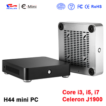 Realan J1900 Core I3 I5 I7 Processore Del Computer Thin Client PC Desktop Mini PC