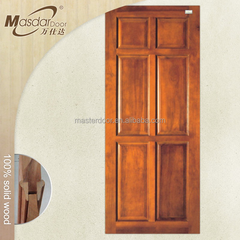 German style luxury interior wood doors installation price