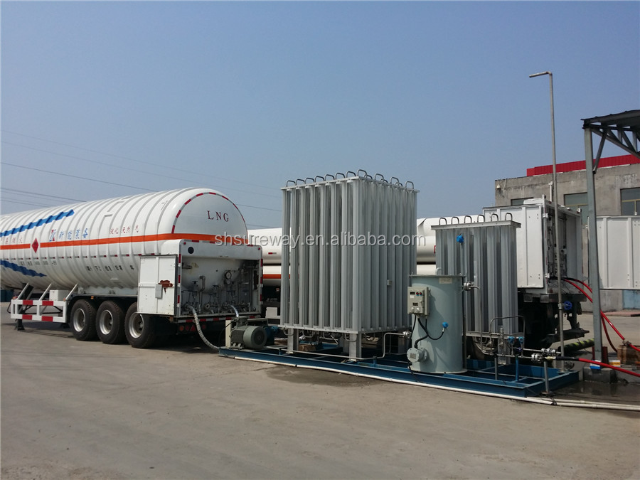 Skid mounted type LNG, L-CNG Filling Station