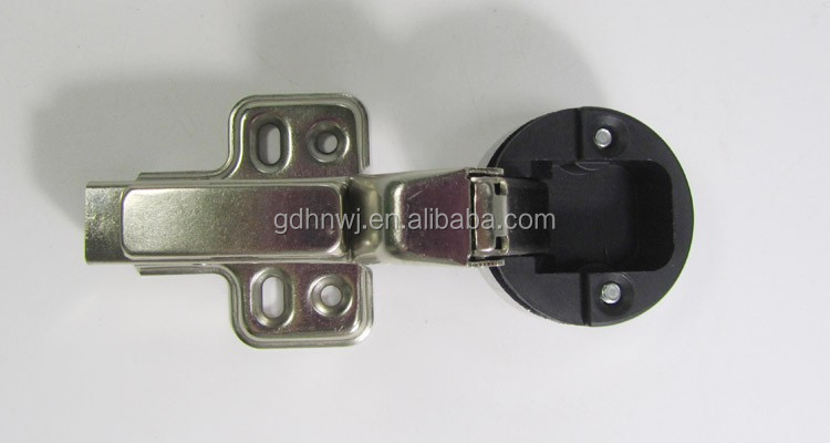 China supplier 35mm Inset soft close hydraulic glass door rubber hinge