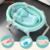 Luxury baby bath products comfortable float mesh baby bath mesh for safe