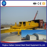 Color Steel Roof Machine /Arch Sheet Metal Roofing Machine/ Tile Sheet Metal Machine