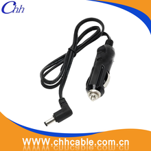 High quality car cigarette cable 12v usb charger cable cigarette lighter socket alligator clip charger