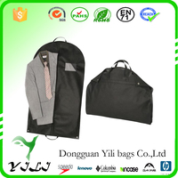 Customize PP non woven suit dust cover garment bag with silkprinting