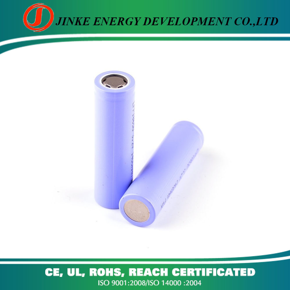 Sufficient capacity 2200mah 3.7v 18650 li ion battery 1865 li-ion battery with wires