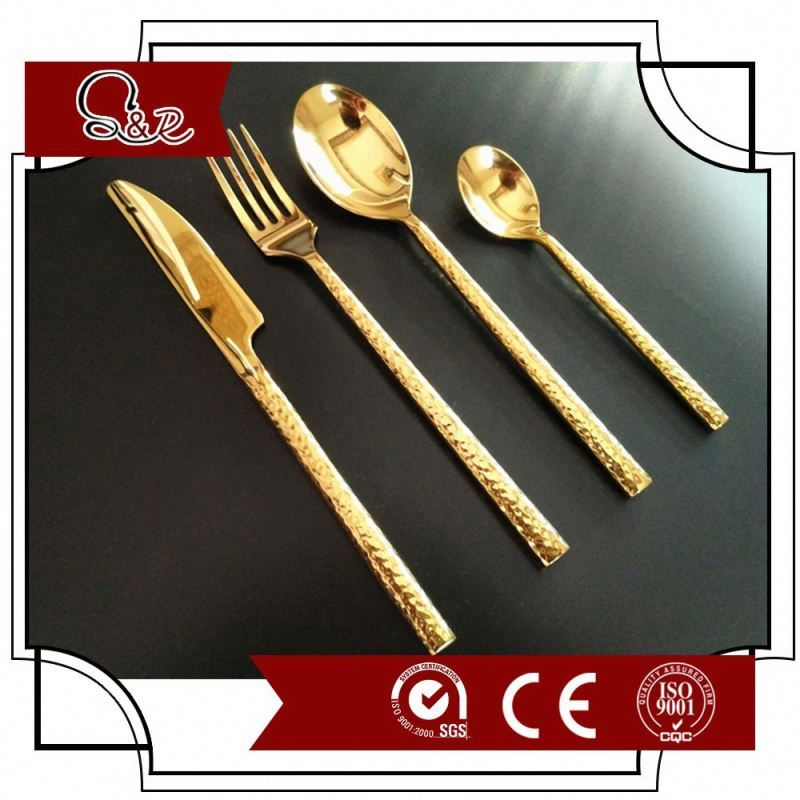 high quality stainless steel 1810 new design flatware set of cutlery set