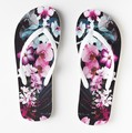custom colors prinitng logo promotional rubber beach flip flops for ladies