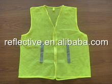 Hi vis <strong>safety</strong> vest with pocket for warning reflective <strong>safety</strong> EN ISO20471