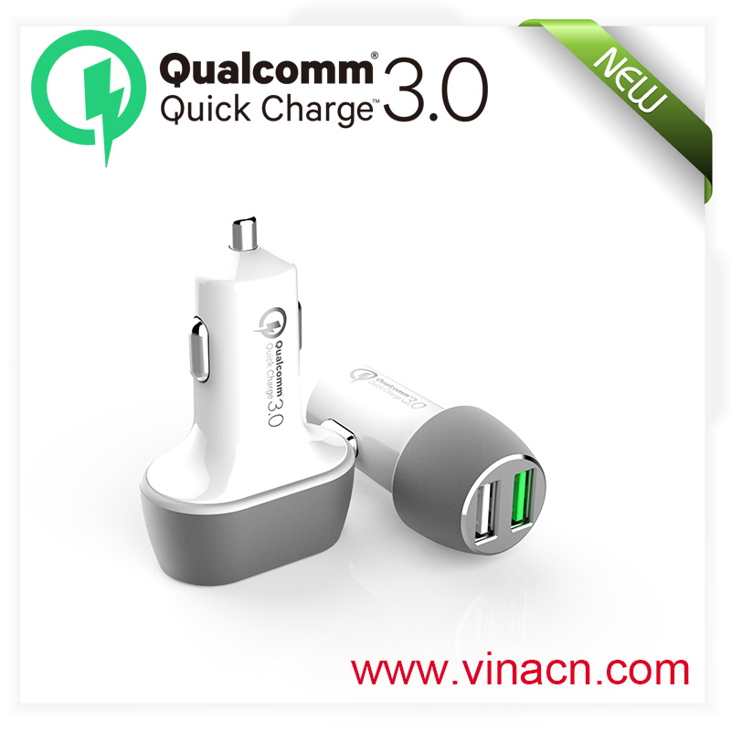 QC3.0 portable charging for samsung high speed Qualcomm for lg high speed charger for mobile phone QC 3.0